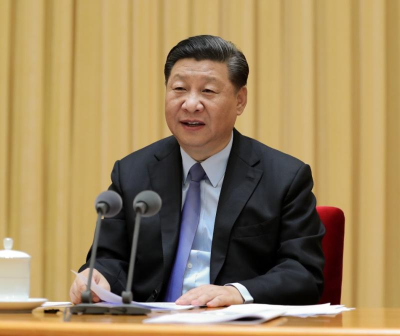 9月10日,全国教育大会在北京召开。中共中央总书记、国家主席、中央军委主席习近平出席会议并发表重要讲话,代表党中央向全国广大教师和教育工作者致以节日的热烈祝贺和诚挚问候。新华社记者 王晔 摄