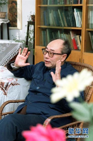 这是核物理学家于敏(1985年摄)。新华社发