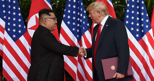 Kim, Trump start meeting and dinner