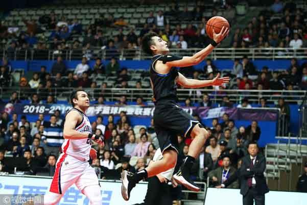 19:30视频直播CBA第44轮比赛:上海VS深圳
