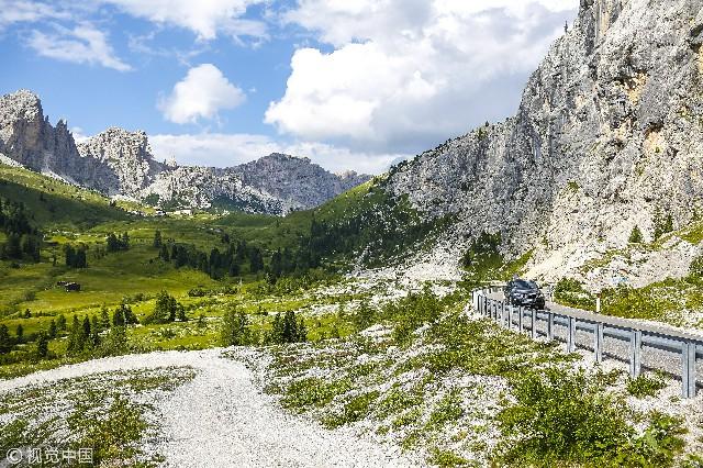 意大利,多洛米蒂山脈