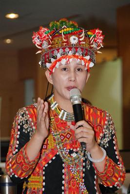 不满民进党2020初选延后,台南市议员谷暮.哈就退出党团运作。(图片来源:台湾媒体)