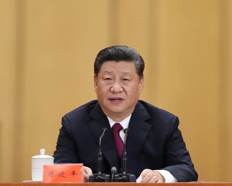 4月30日,纪念五四运动100周年大会在北京人民大会堂隆重举行。中共中央总书记、国家主席、中央军委主席习近平在大会上发表重要讲话。