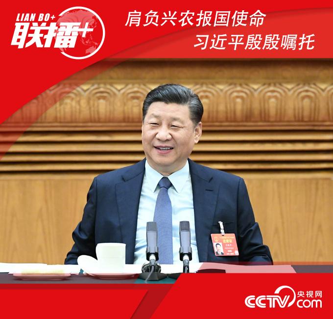 2019年3月8日,中共中央总书记、国家主席、中央军委主席习近平参加十三届全国人大二次会议河南代表团的审议。