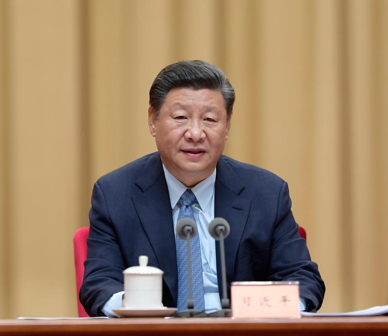 9月27日,全國民族團結進步表彰大會在北京舉行。中共中央總書記、國家主席、中央軍委主席習近平出席大會并發表重要講話。新華社記者 李學仁 攝