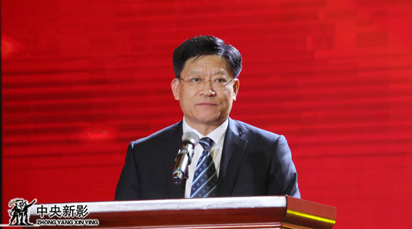 潍坊峡山生态经济开发区党工委副书记、管委会主任张守富主持