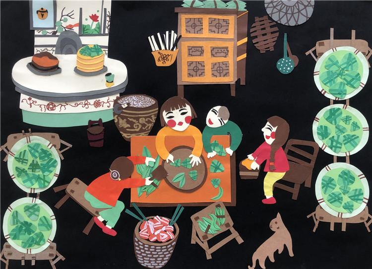 《一家人》樓思宇  9歲    兒童畫