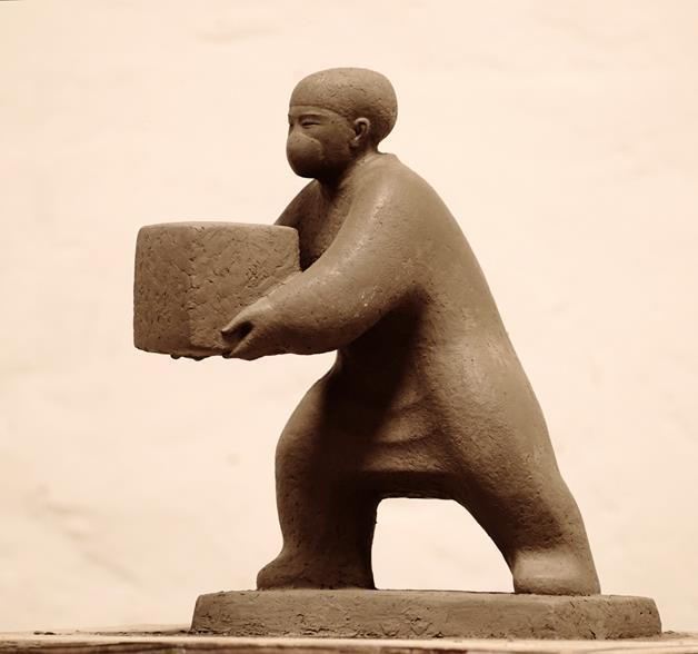 申紅飆 《同裳》 雕塑 2020年
