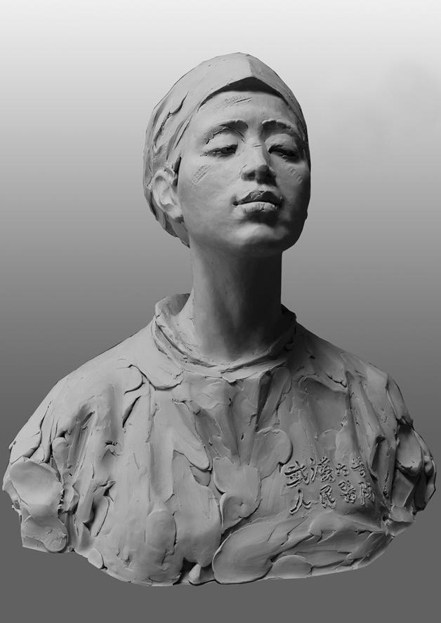 李迅 《天使的唇印》 雕塑 2020年