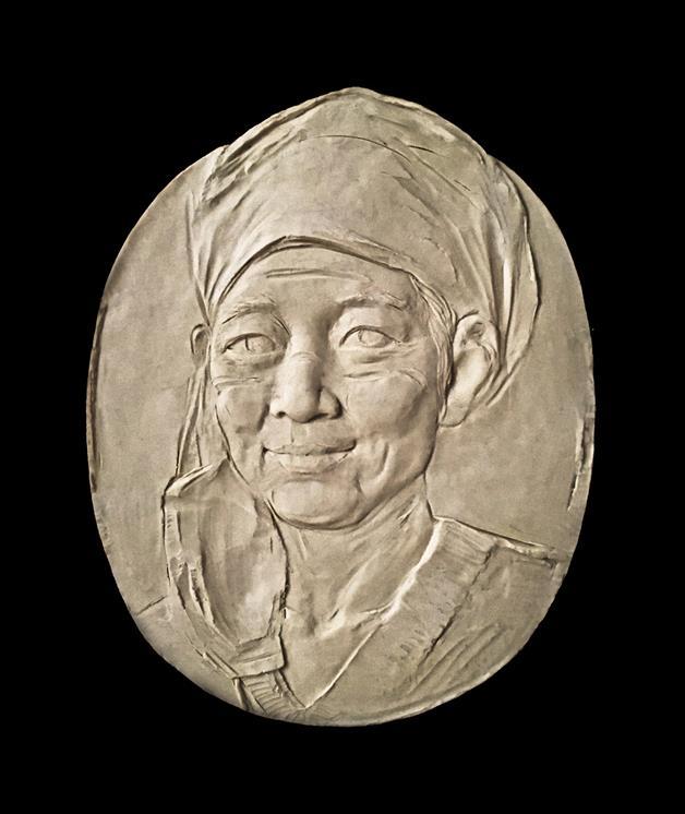 劉松 《最美的微笑》 雕塑 2020年