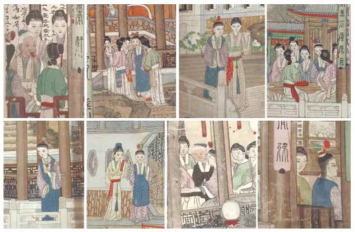 《大觀園圖》中賈寶玉的八次出現