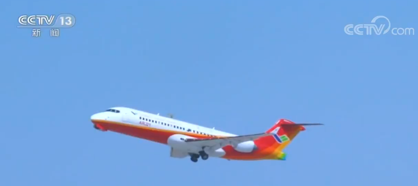 ARJ21客机迎来第100万名乘客 中国自研客机已成规模化运营