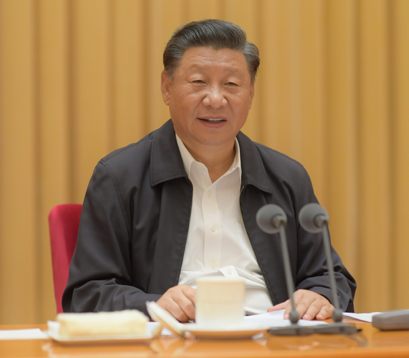 8月28日至29日,中央第七次西藏工作座谈会在北京召开。中共中央总书记、国家主席、中央军委主席习大大出席会议并发表重要讲话。新华社记者 李学仁 摄