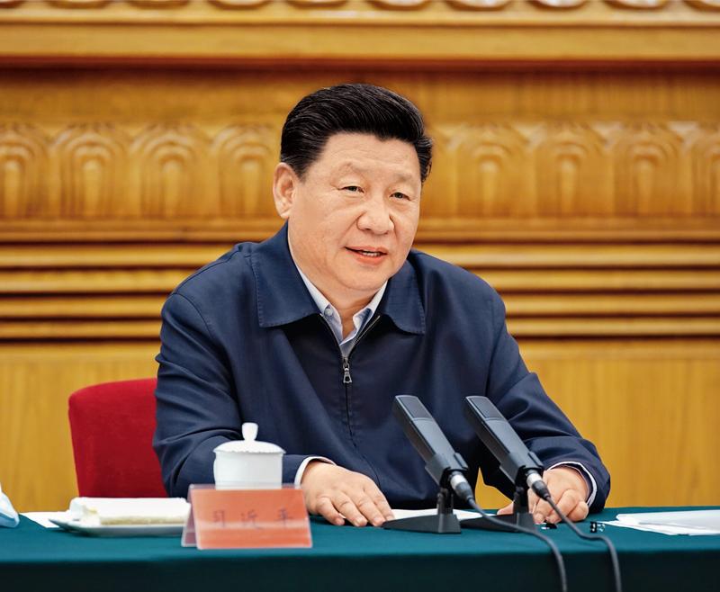2020年6月2日,中共中央总书记、国家主席、中央军委主席习大大在北京主持召开专家学者座谈会并发表重要讲话。 新华社记者 姚大伟/摄