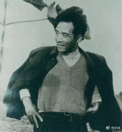 1966年2月7日,《人民日报》刊登长篇通讯《县委书记的榜样——焦裕禄》。图为焦裕禄。