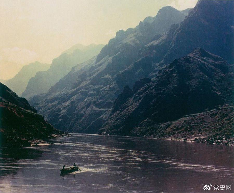 云南省禄劝县金沙江皎平渡口。1935年5月,红军在这里北渡金沙江。