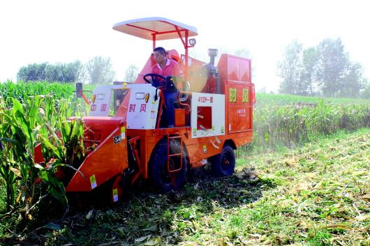 玉米联合收割机建设项目可填补国内空白
