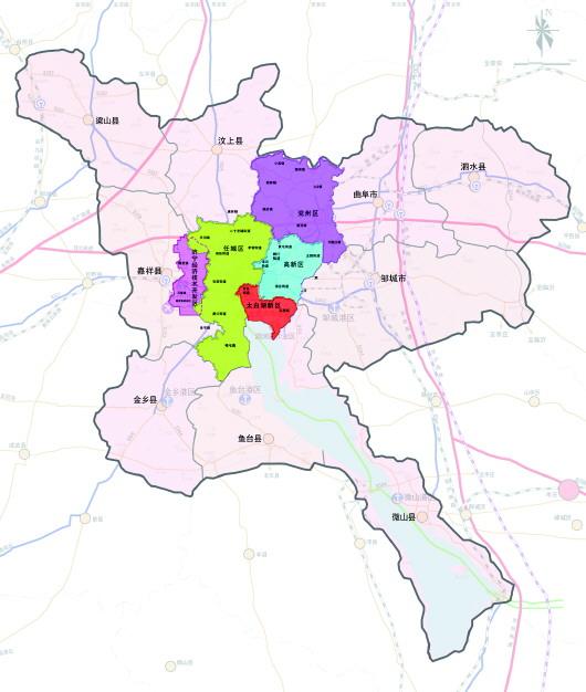 济宁市市区划分-都市区建设 要融合不要 拼盘