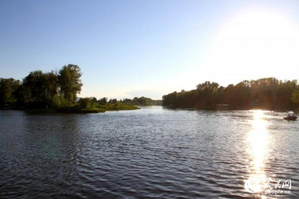 图为伏尔加河畔风景.(人民网记者 刘旭摄)