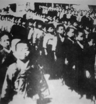 """""""协和语"""" 和日本在东北的奴化教育图片"""