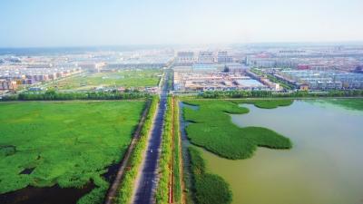白城市大力推进海绵城市建设工程