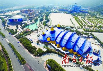 11月1日,珠海长隆国际马戏新馆将迎来第二届中国国际马戏节的开幕