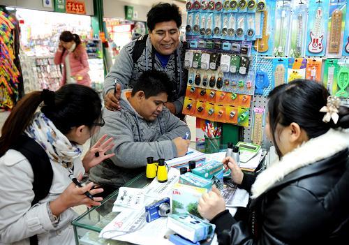 В 2011 году объем сделок на рынке мелких товаров в Иу превысил 50 млрд юаней
