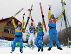 Victoire de la Suède au 4x10 km homme