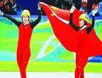Les patineuses de vitesse chinoises couvertes d´or