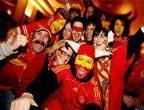 Mondial 2010 : les fans espagnols célèbrent la victoire