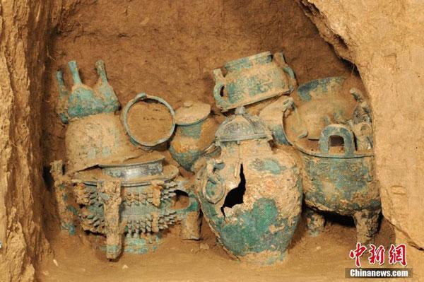 1388372672105 1388372672105 r Descubren tumba china de tres mil años de antigüedad CCTV International