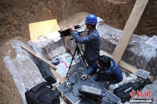 1388372689765 1388372689765 r Descubren tumba china de tres mil años de antigüedad CCTV International