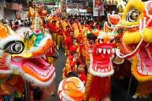 Chinese New Year celebrated in the Philippines