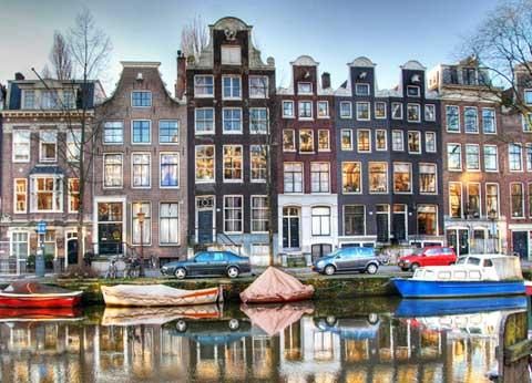 Dutch city of Amsterdam
