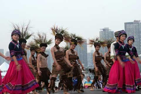 Typical elements of Hubei province are fully demonstrated at the Expo.