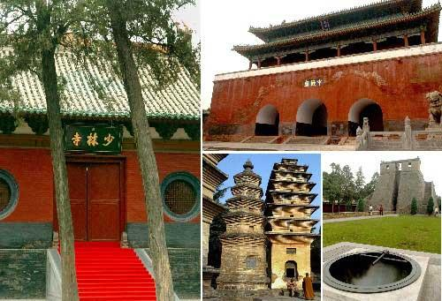 The age-old architectural complex, seated in the Songshan Mountain, has witnessed the fleeting passage of time from as early as the East Han Dynasty to the Qing Dynasty.