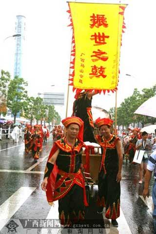 South China's Guangxi Zhuang Autonomous region has put its splendid culture on display at the Shanghai World Expo.