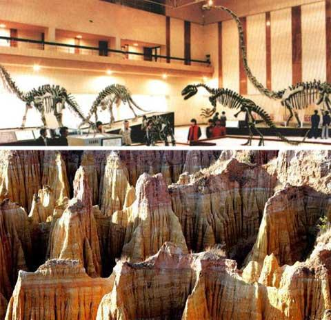 The Lufeng Dinosaur Museum