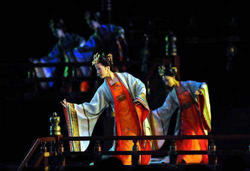 At the ongoing World Conference on Music Education, the Xi'an Conservatory of Music is reviving this traditional art on stage.