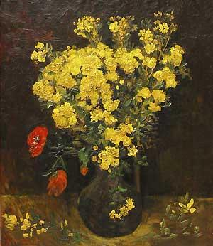 The Vincent van Gogh painting Poppy Flowers, also known as Vase with Flowers, was stolen Saturday in Cairo.
