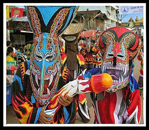 Photo from Thailand Ghost Festival