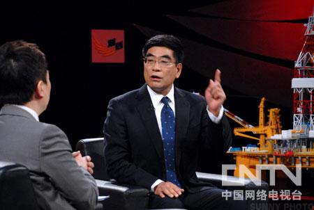傅成玉 中国海洋石油有限公司董事长 林瑶生
