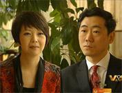 CCTV host Tian Wei interviews CPPCC member Li Daokui