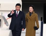 Début de la visite du président chinois en Belgique