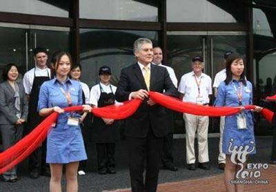 Expo2010:inaugurationdupavillond'Australie