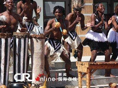Expo2010:journéedupavillonduZimbabwe