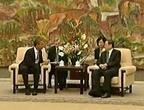 الرئيس الأمريكي يزور شانغهاي