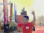 Огонь Азиатских игр прибыл в город Фошань
