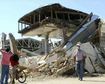Residents of Constitucion, the earthquake-ravaged city in Chile, begin to rebuild their lives as bulldozers start removing tonnes of rubble. (AFPTV)