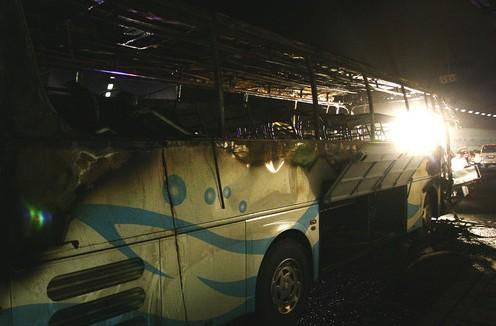 A bus fire in Wuxi in East China's Jiangsu Province, has left 24 people dead and injured 19 others.